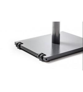 La Barre Simple - Barre sur pieds hauteur réglable - Longueur 2 ml - poids 32 kg