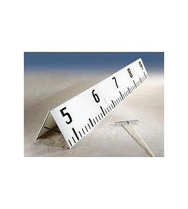 Toise de mesure de sauts IAAF
