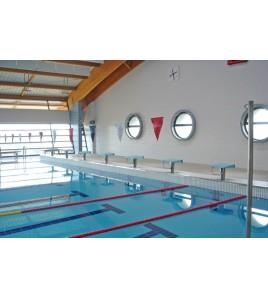 Fourreaux pour poteaux de lignes de bassins