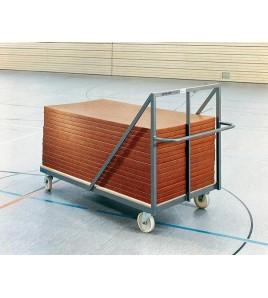 Chariot de transport pour tatamis de judo