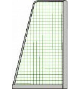 Filet de Football à 8 - La Paire, dimensions 6,00 x 2,10 ml, maille 120 mm