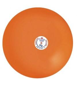 Poids caoutchouc souple TRIAL - 6,25 kg