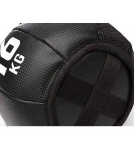 Kettlebells Soft Line Carbon Look - Poids 16 kg