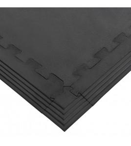Sol rubber strong en plaques bordure épaisseur 17mm