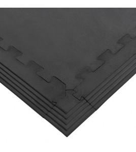 Sol Rubber Strong en plaques puzzle - Épaisseur 17 mm - poids par plaque 17,00 kg