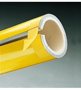 Protection de poteaux mousse. Protection pour poteau rond, long 200 cm. ø 10 cm.