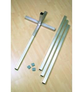 Pack Poutrelles de stabilisation aluminium et fourreaux