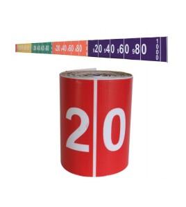 Bande de mesure longueur 20 ml