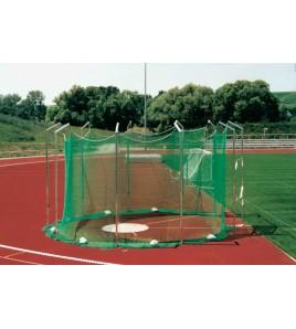 Cage de lancer disque hauteur 5 m