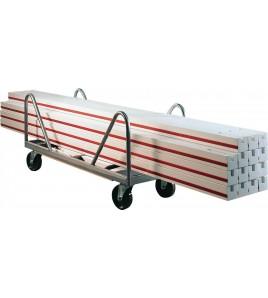 Plinthes de terrains de hockey - Le jeu comprend 32 planches de 2,50 m (poids d'un élément 13 kg),