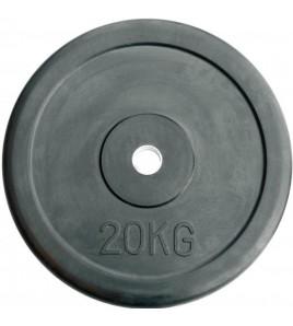 Disques de charge caoutchouc ø 28 mm - Disques 20,00 kg