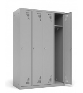 Vestiaire Armoire 1 casier par colonne - Modèle 4 colonnes