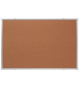Tableau d'affichage fond liège 120x160