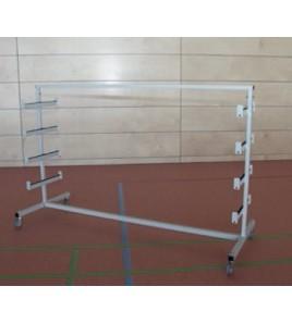 Chariot de transport Badminton