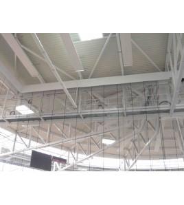 Filets électriques de séparation de Gymnase
