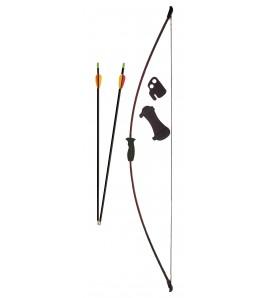 Lot Archerie arc loisir - Longueur de l'arc : 93 cm.