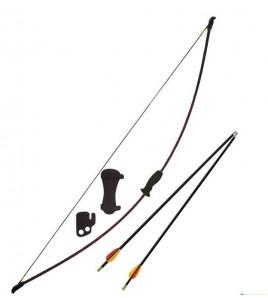 Lot Archerie arc loisir - Longueur de l'arc : 112 cm.