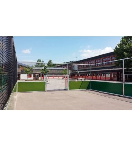 Terrain Greencourt dimensions 24x12ml, avec filet périphérique
